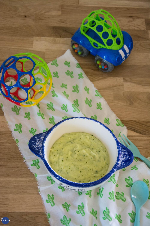 Purée de courgettes et polenta 2